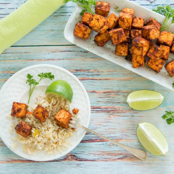 The Day Might Come When You Miss Craving Crappy Food + Oil Free Chili-Lime Baked Tofu