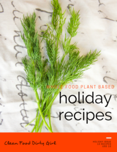 Holiday Recipe Book Cover
