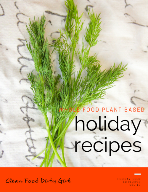 Whole food plant based holiday recipe e book 2016 holiday recipe book cover forumfinder Image collections