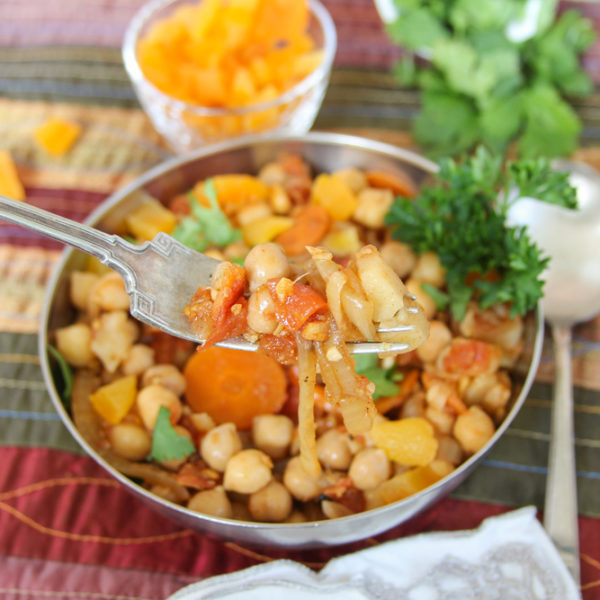 Dirty Girl Charlene Bisiada Completely Reverses Her Heart Disease & Blood Clots In 5 Months + Moroccan Chickpea Stew