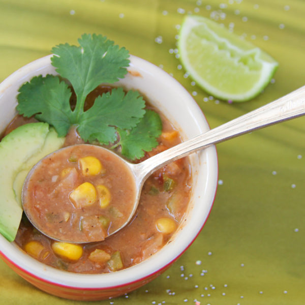 Dirty Girl Frances Jørgensen Turned Her Diabetes Around In 7 Months + Plant Based Oil Free Refried Bean and Salsa Soup