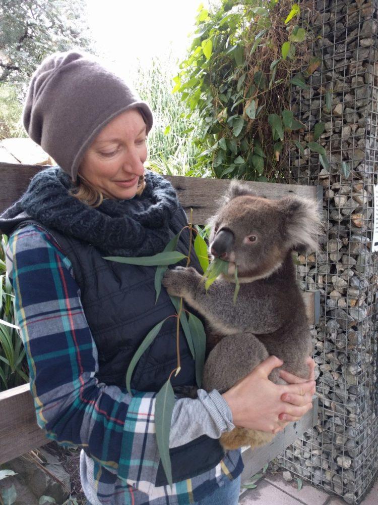 Molly and Koala