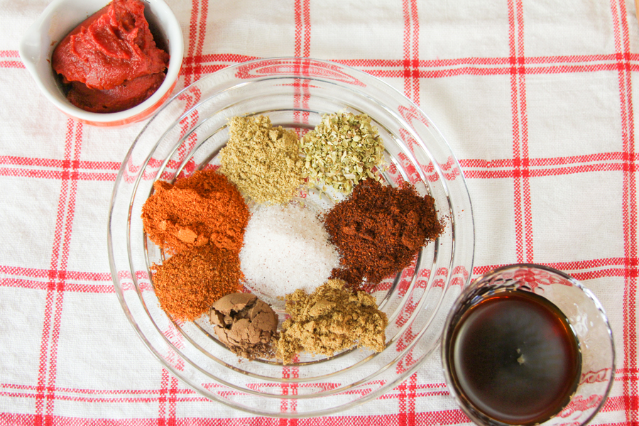 3_whole_food_plant_based_lentil_red_bean_chili_ingredients_top_shot