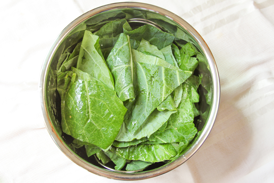5_whole_food_plant_based_steamed_garlicky_lemon_greens_ingredients_top_shot