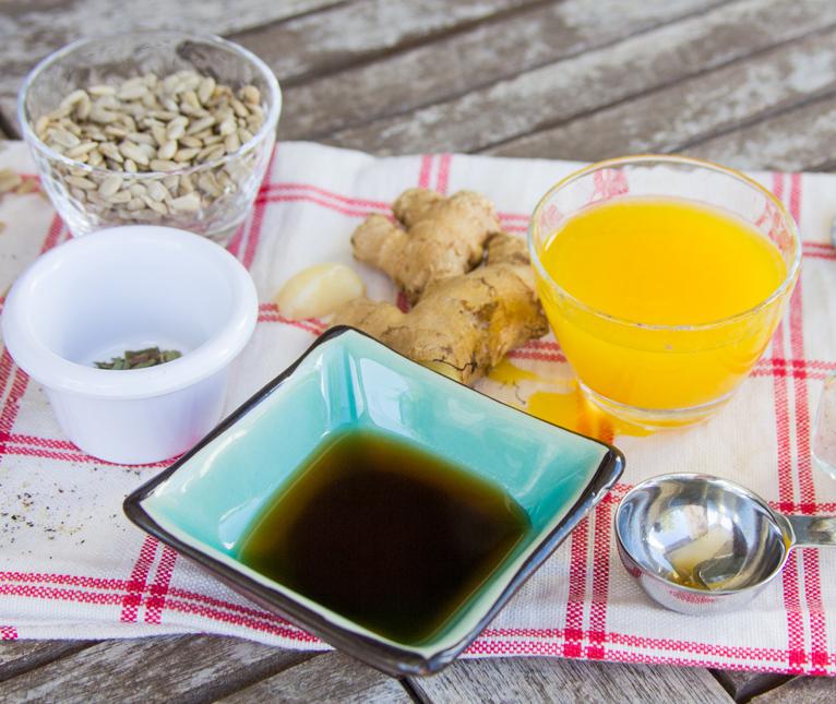 3_Whole_food_plant_based_orange_sunny_dressing_ingredients_side_shot