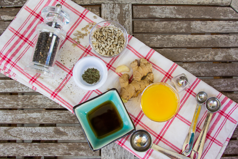 1_Whole_food_plant_based_orange_sunny_dressing_ingredients_top_shot