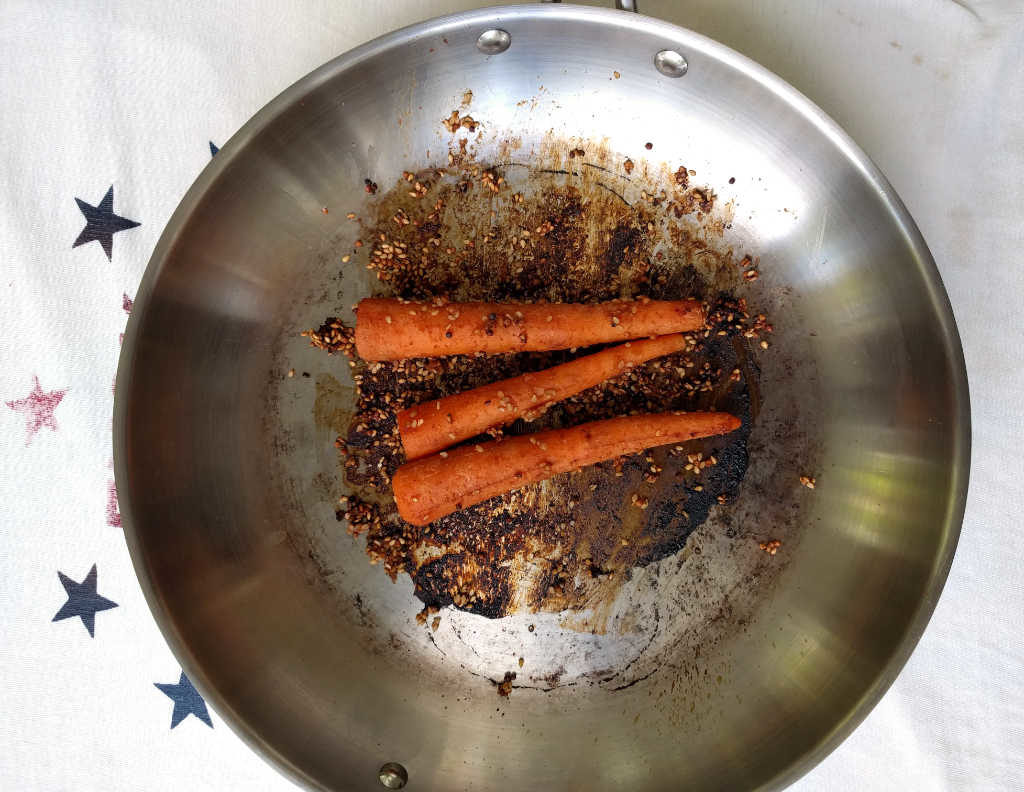 whole_food_plant_based_carrot_dogs_in_skillet
