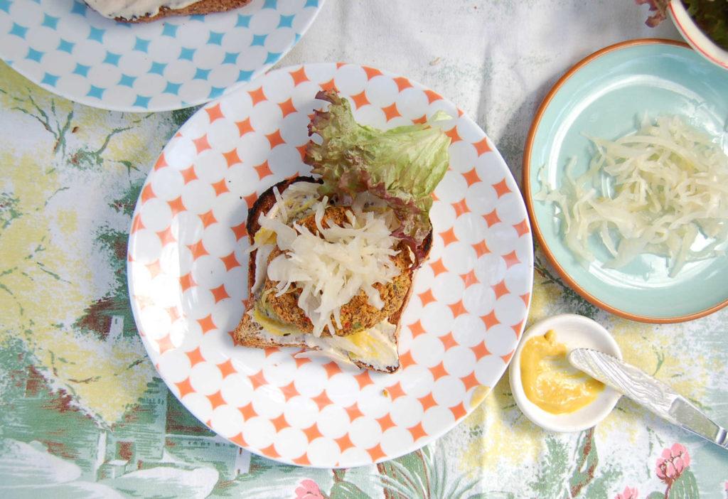 whole_food_plant_based_crab_cakes_sauerkraut_top