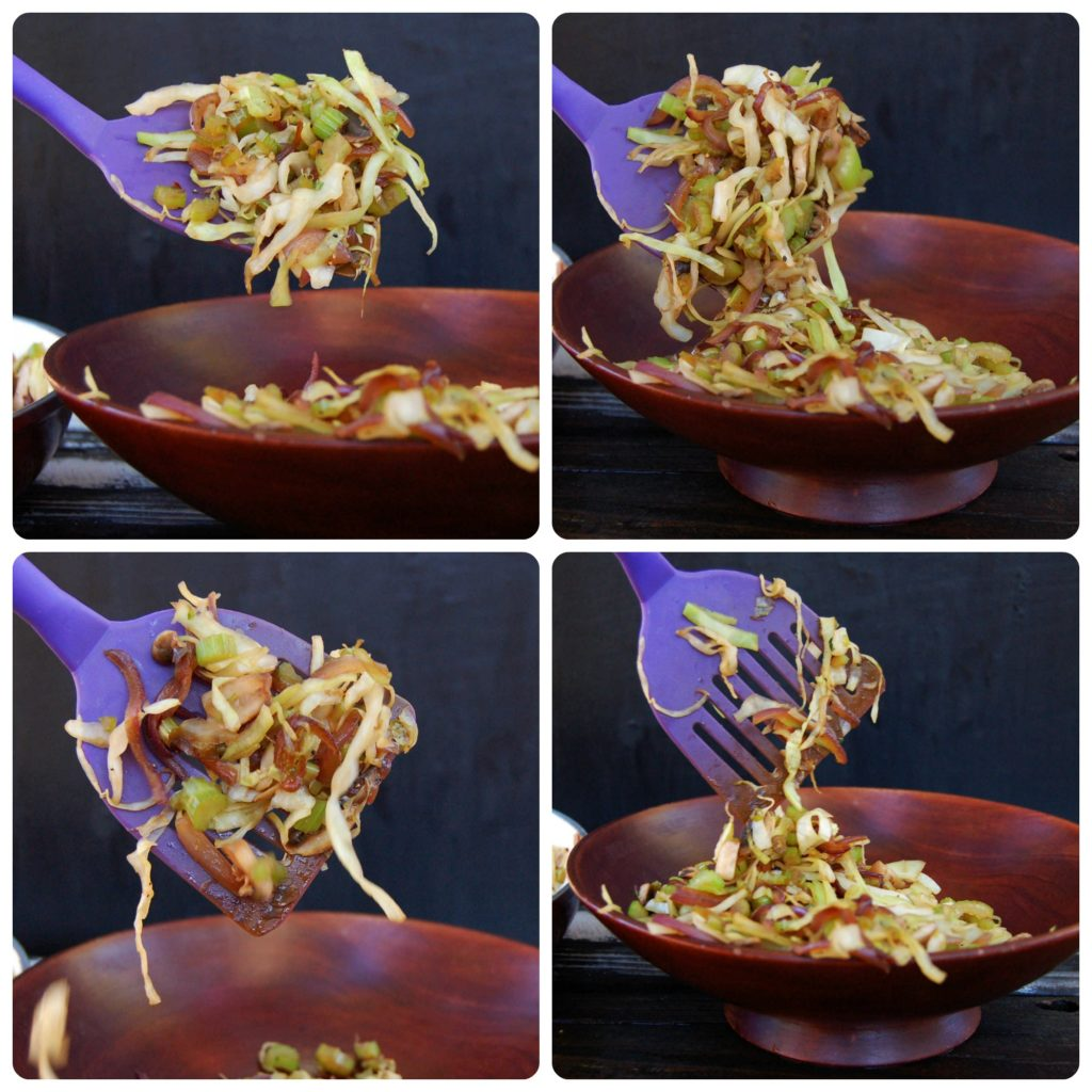 10 minute stir fry collage one