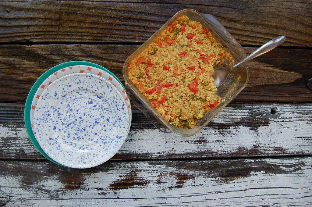 rice_casserole_alone_casserole_plates