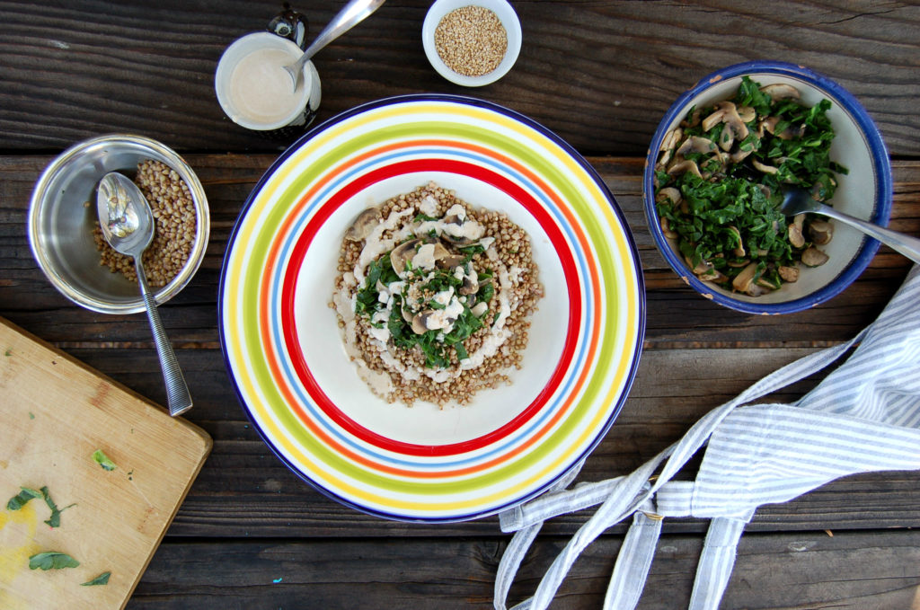 Buckwheat_mushrooms_top_ingredients_plus_bowl