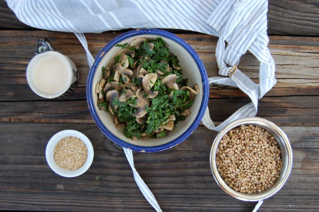 Buckwheat_mushrooms_cooked_ingredients