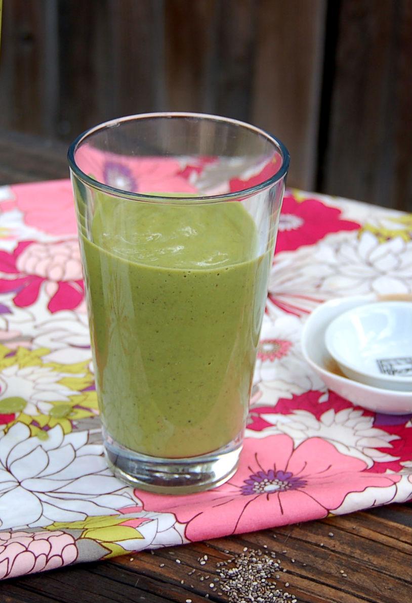 sweet potato green smoothie
