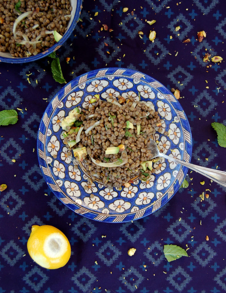 lentil_salad_plate_lemon_top