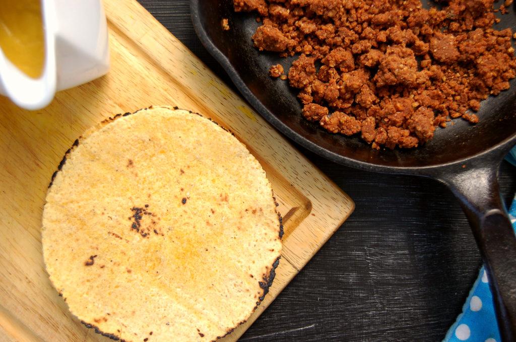 walnut_lentil_tacos_skillet_tortilla