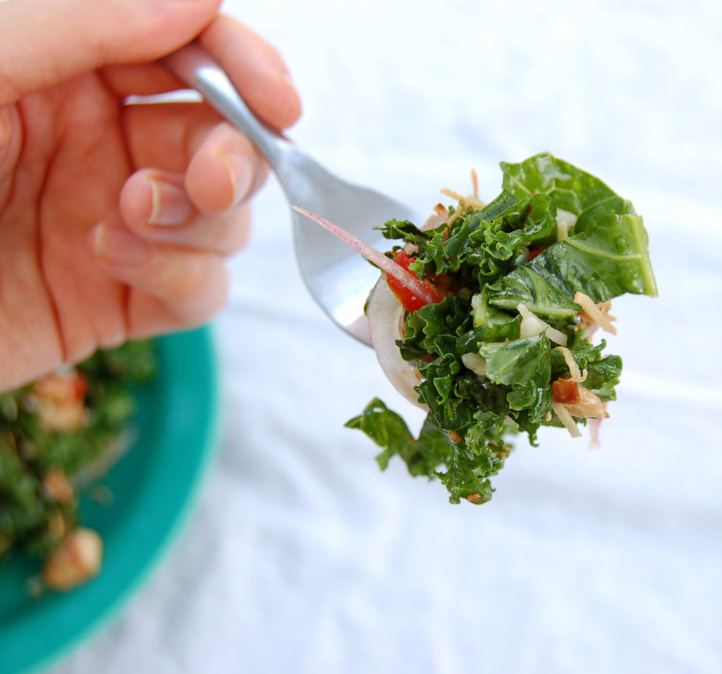 toasted_coconut_kale_salad_coconut_bite