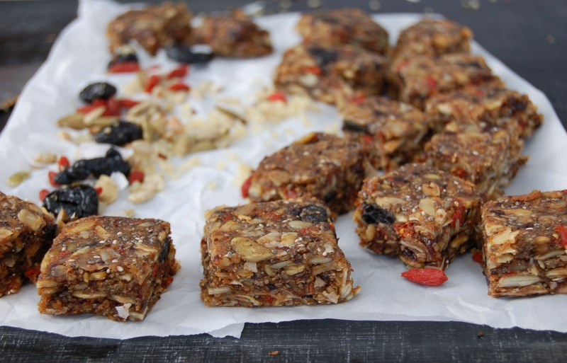 plant powered protein squares