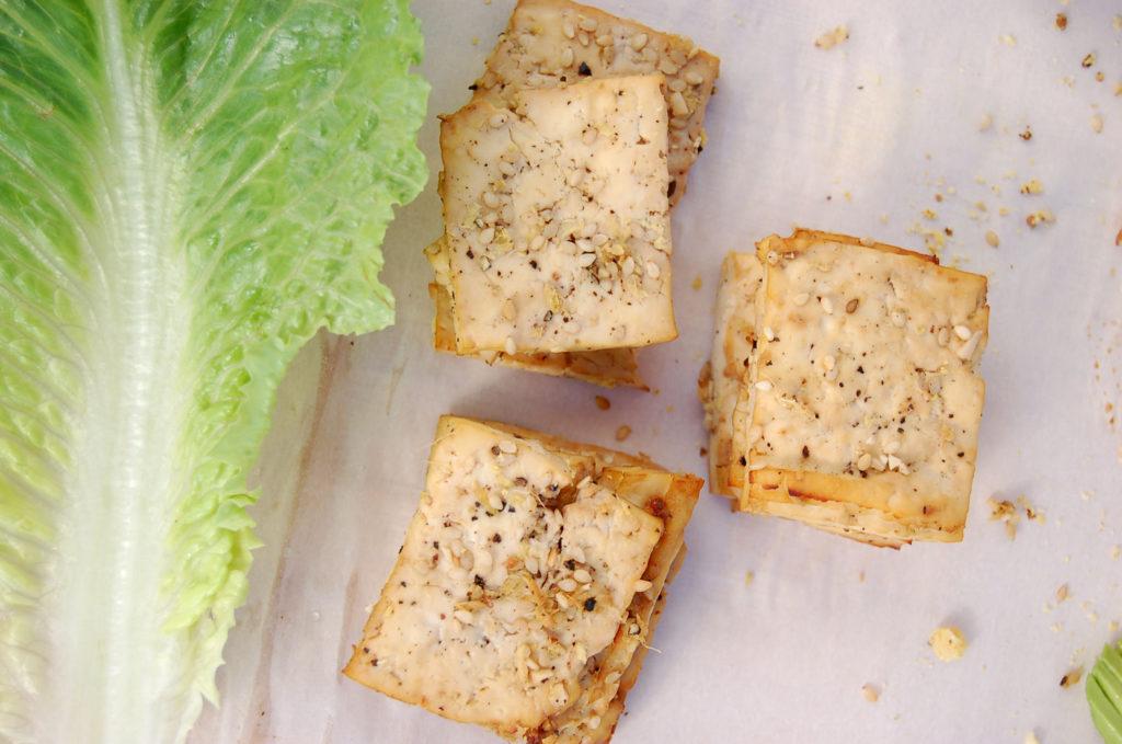 baked_tofu_caesar_sandwich_tofu_romaine