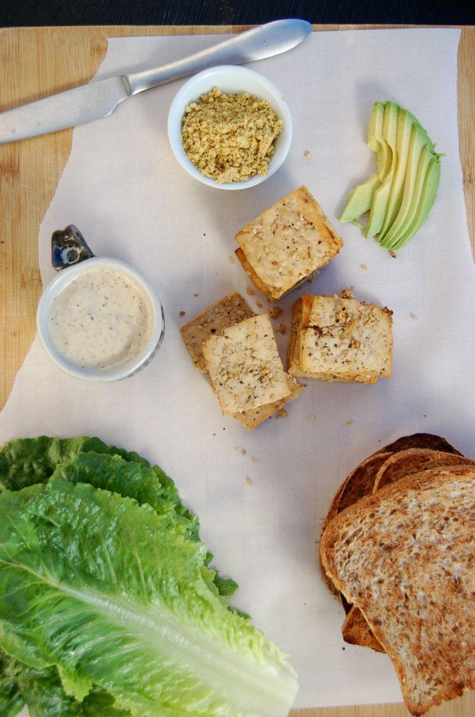 baked_tofu_caesar_sandwich_ingredients_vert
