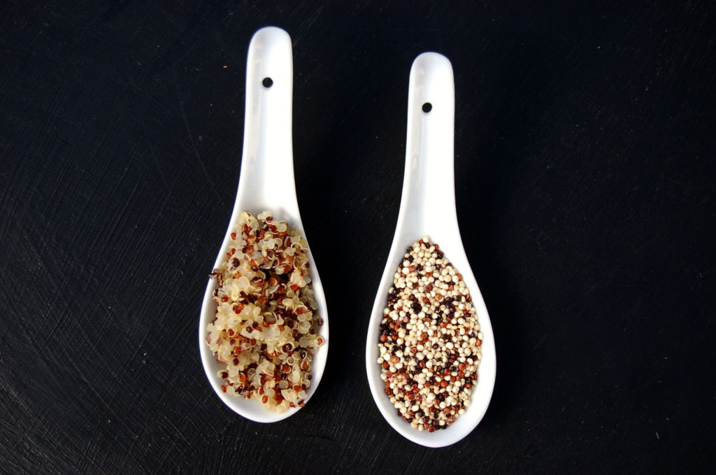 Quinoa Spoons