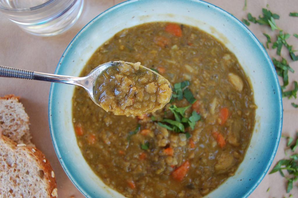 slow-cooker-split-pea-spoon-above