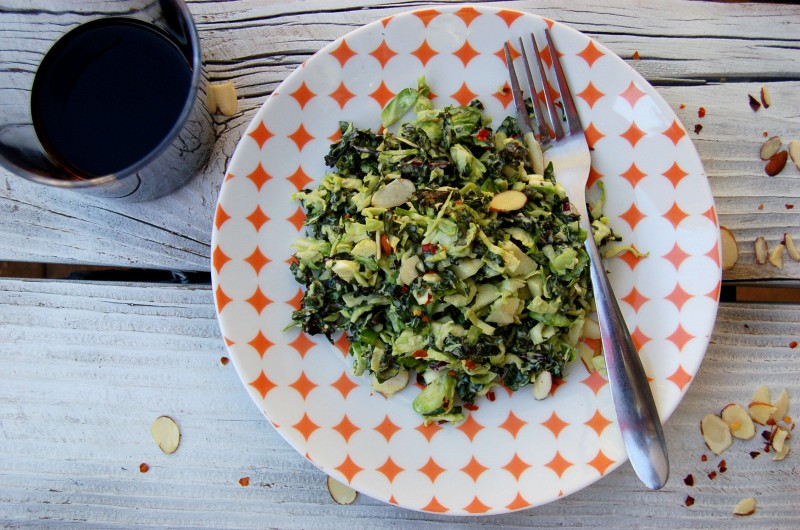 kale_brussels_salad_peach_plate