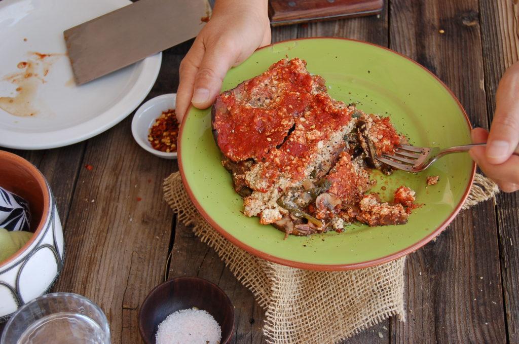 eggplant_lasagna_hand_shot