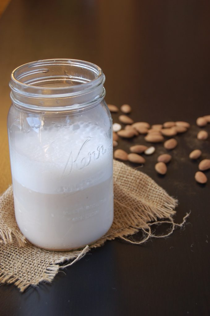 how to make almond milk uk