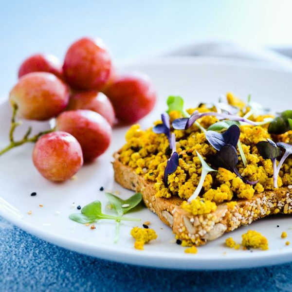 Perspective by Lyndsey Hafer-Williams + Scrambled Tofu on Toast (no oil)