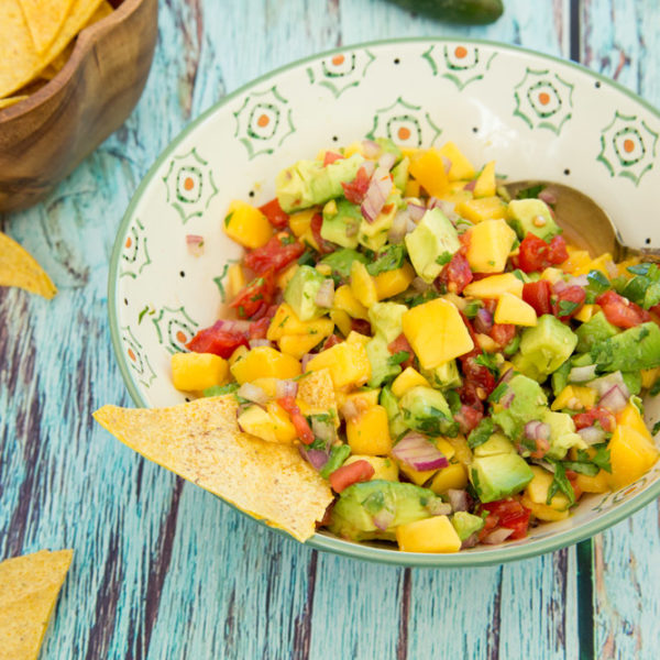 Secrets by Lyndsey Hafer-Williams + Avocado Mango Salsa