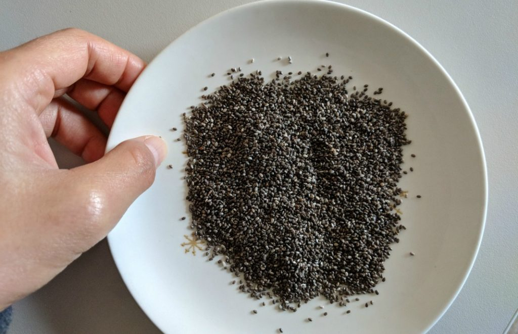 chia seeds whole food plant based