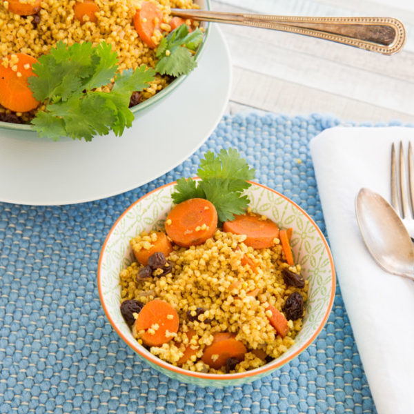 What To Do When You Get Off Track From Eating Plants + Moroccan Millet Pilaf (no oil)