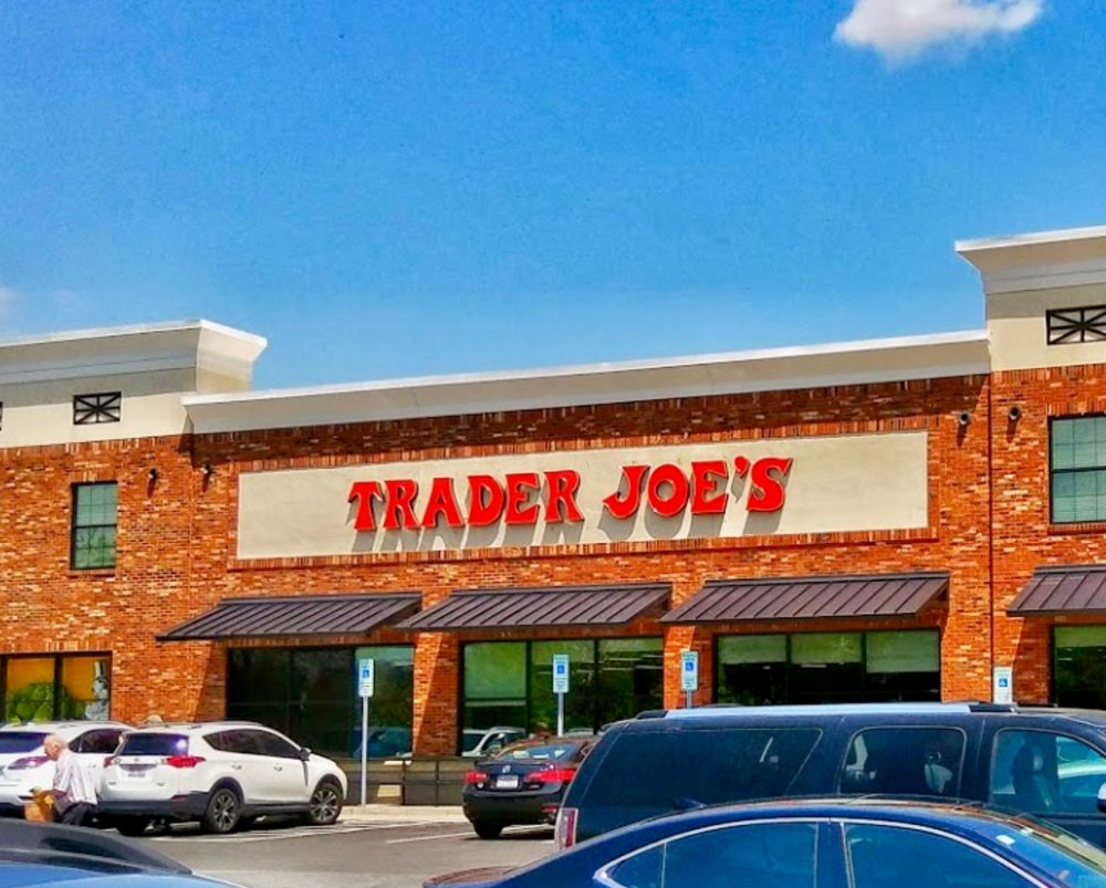 Looking at Trader's Joe's store in Asheville North Carolina