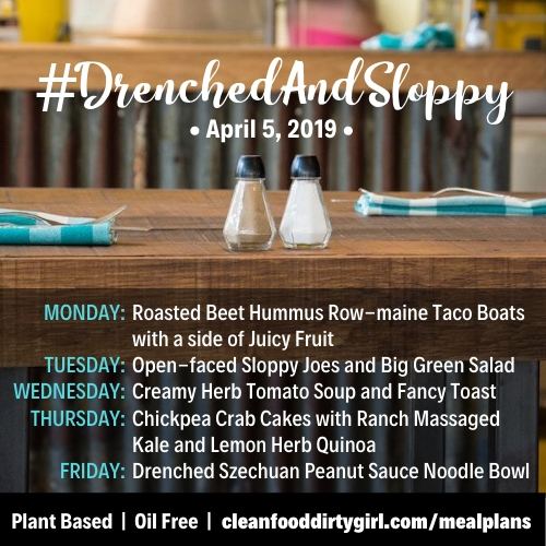 DrenchedAndSloppy-Apr-5-2019-menu