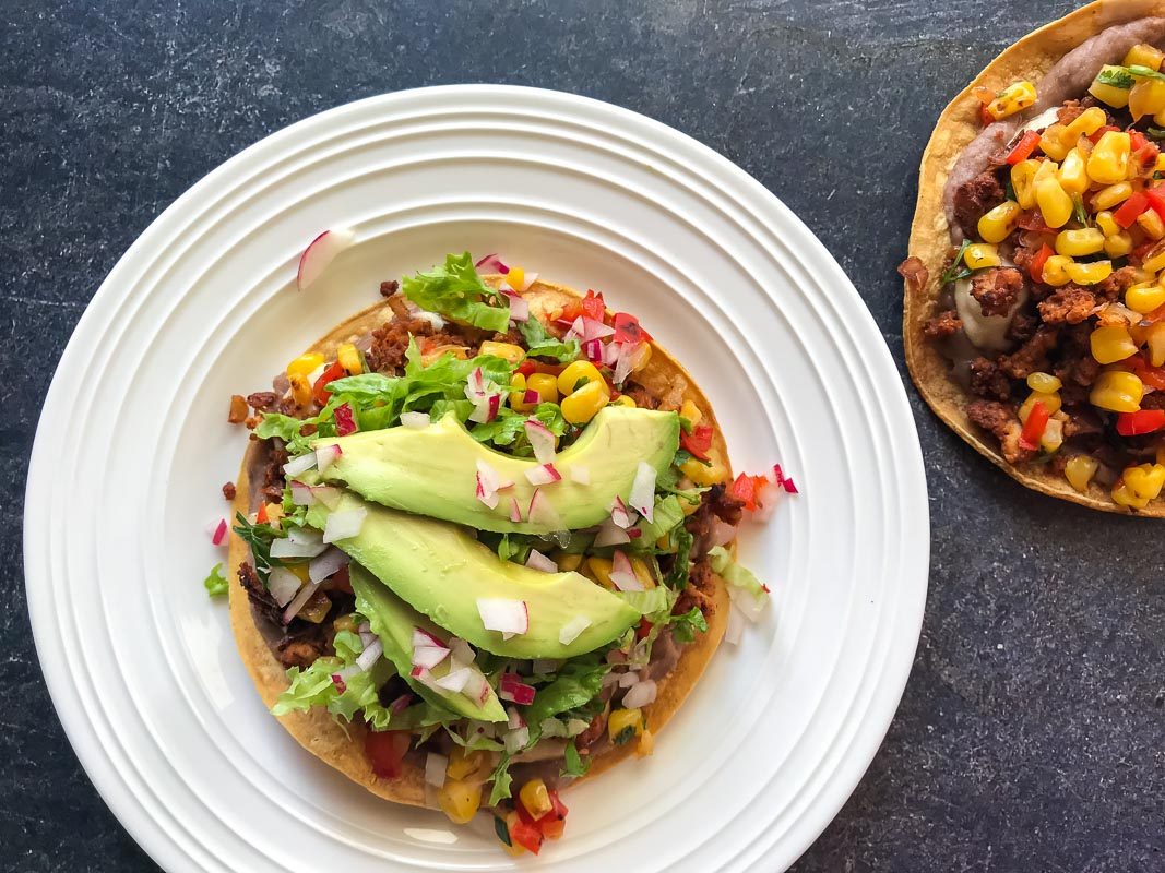 Frijole_Tostadas_with_Pan-Roasted_Corn_Salsa