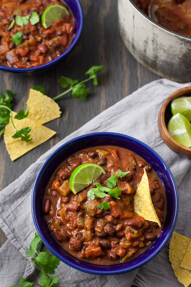 Speedy Plant Based Chili