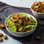 oil-free croutons