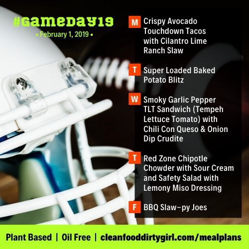GameDay19-Feb-1-2019-menu