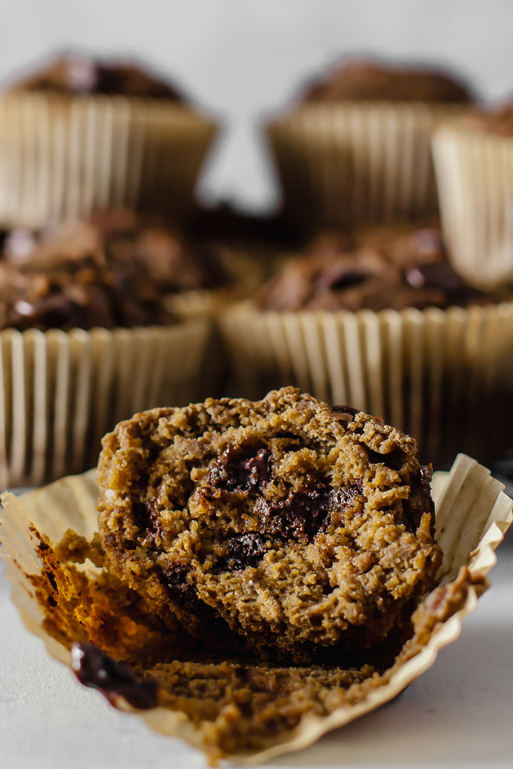 Plant Based Chocolate Chip Blender Muffins (oil-free) How to Get Your Partner and Kids on Board with Eating Plant Based