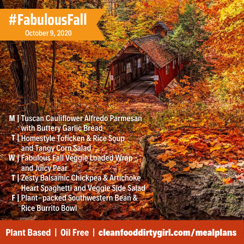 fabulous fall menu