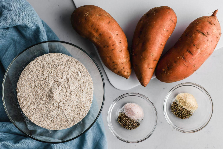 Sweet Potato Flatbread (oil-free)