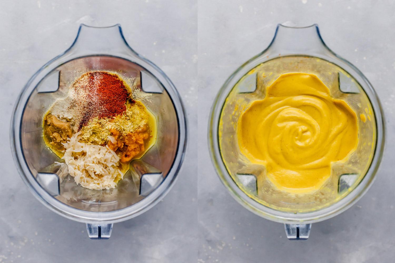 Qigong Plant Based Creamy Cheesy Pumpkin Sauce