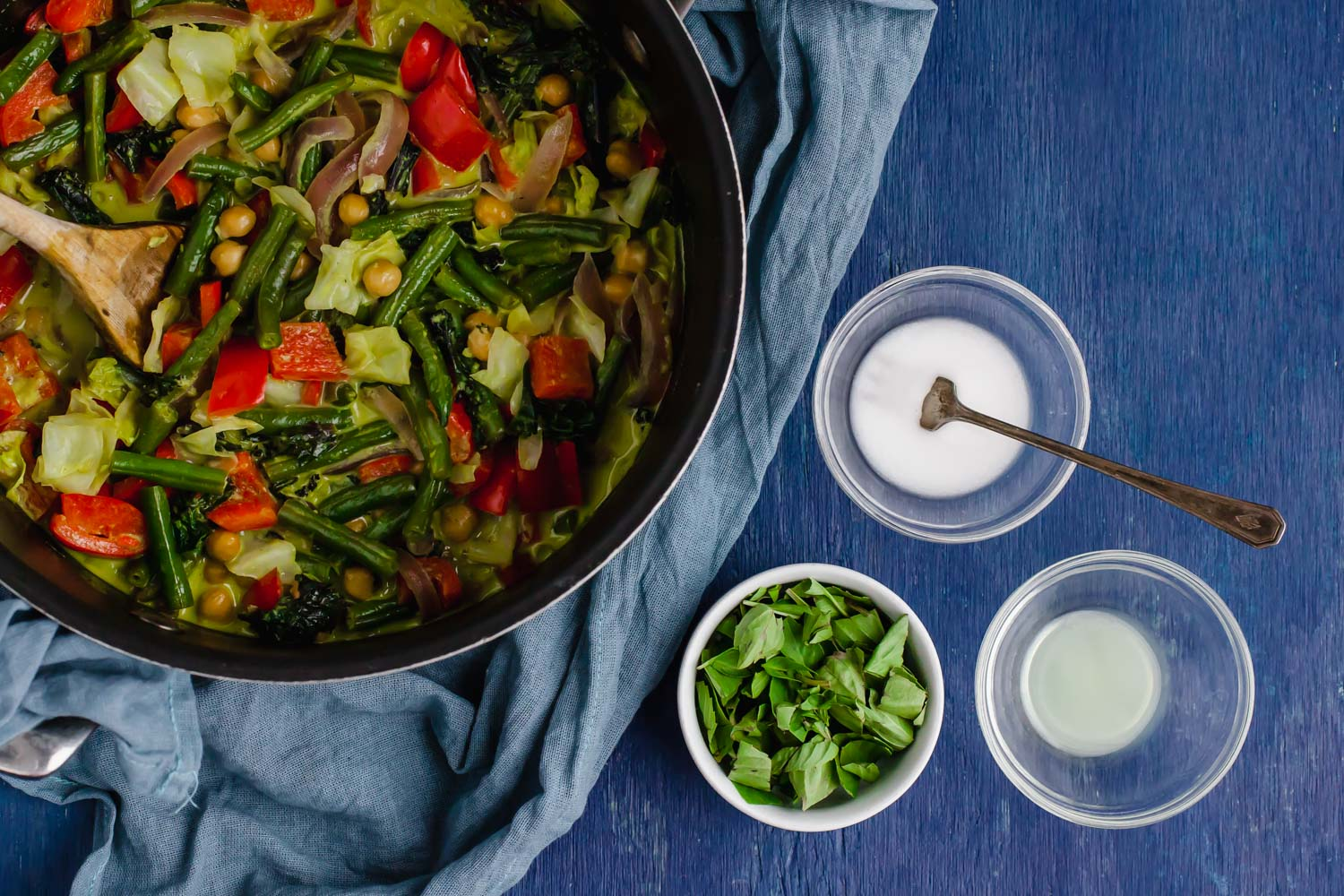 The Importance of Remembering Your Why + Chickpea Green Curry (oil-free)