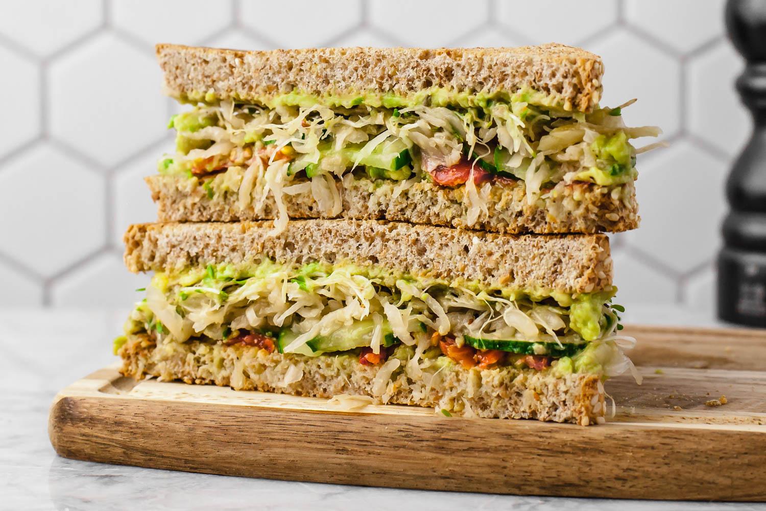 What I Eat When Grief Makes Eating Hard + Super Easy Sandwich