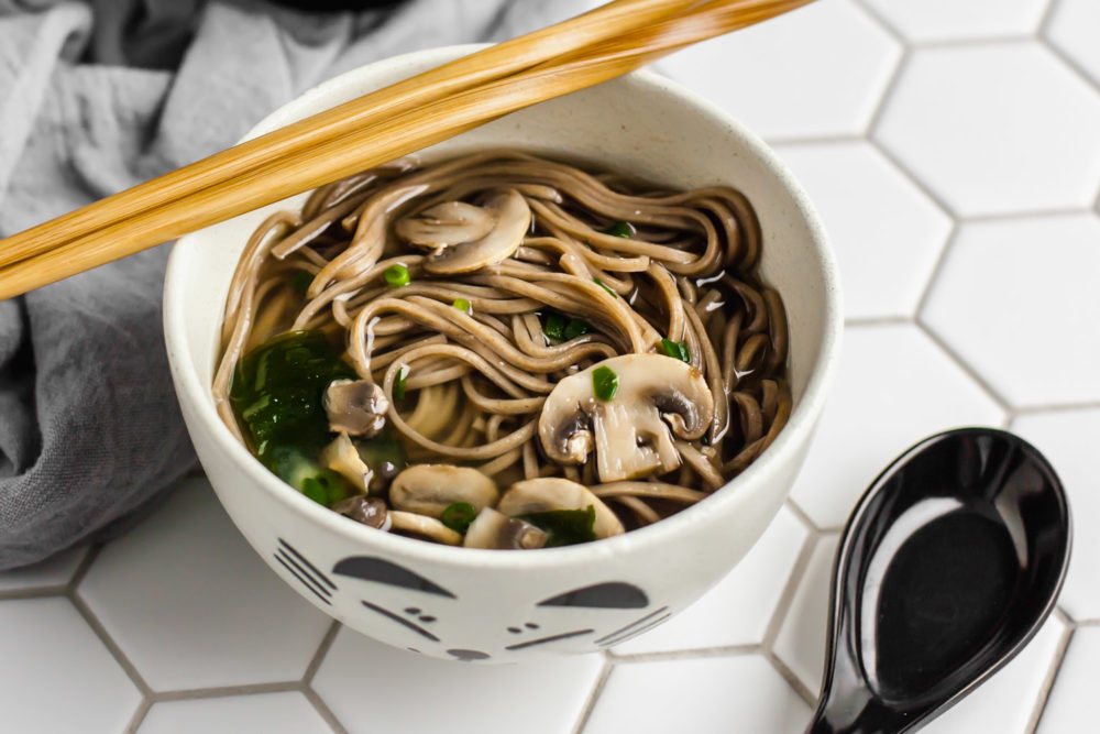 simple miso soup and letting go of perfectionism