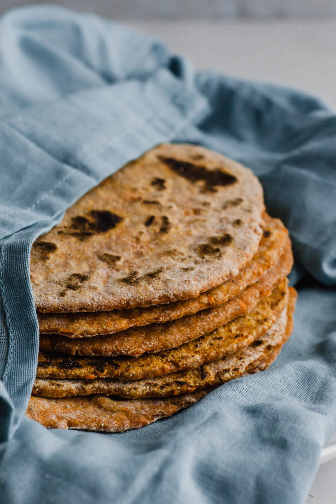 Sweet Potato Flatbread (oil-free) What to Do When You Can't Get Certain Whole Food Plant Based Ingredients