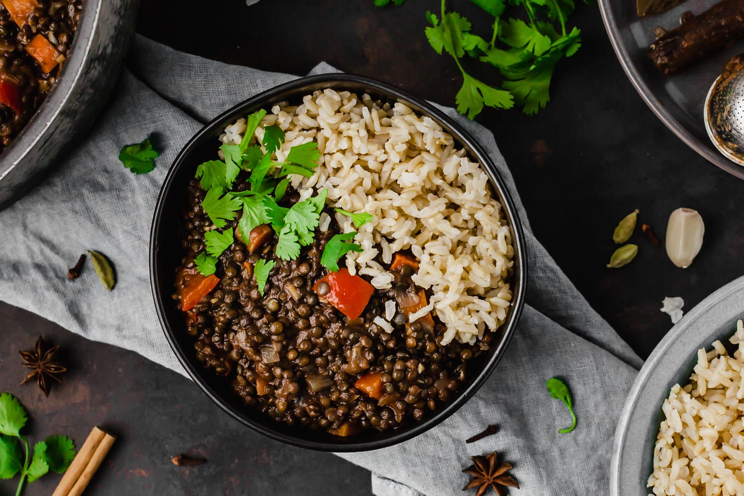 Making My Whole Food Plant Based Diet Gluten-Free + Plant Based Black Lentil Curry