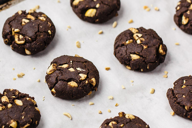 Molly and Erica Talk Human Stuff + Plant Based Chocolate Peanut Cookies