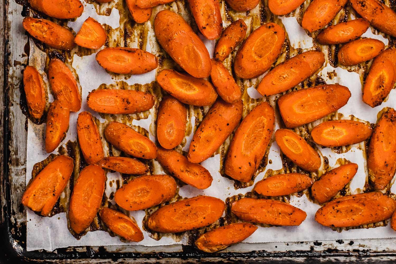 Binge Eating and Orange-Maple Glazed Carrots