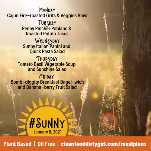 January-8-2021-Sunny-menu